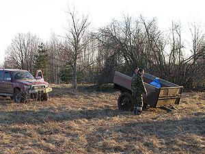Открытие поискового сезона-2011. 23-24 апреля 2011 г. Московская область, Шатурский район.